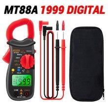 ANENG MT88A pince numérique mètre 1999 haute précision pince numérique courant multimètre tension ca/cc 500A testeur de courant NVC