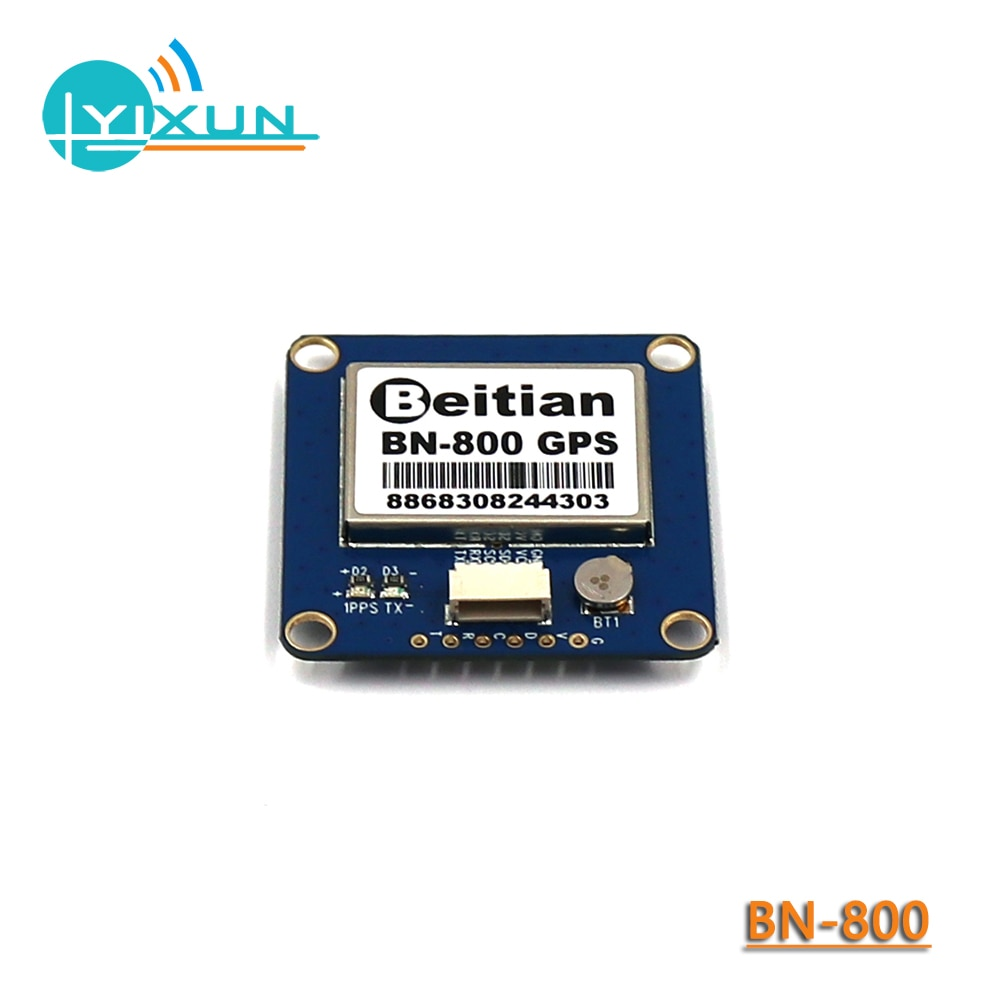 BEITIAN BN-800... GNSS módulo GPS GLONASS Dual control de vuelo de modo Dual GPS módulo brújula HMC5883L AMP2.6/PIX4/PIXHAWK