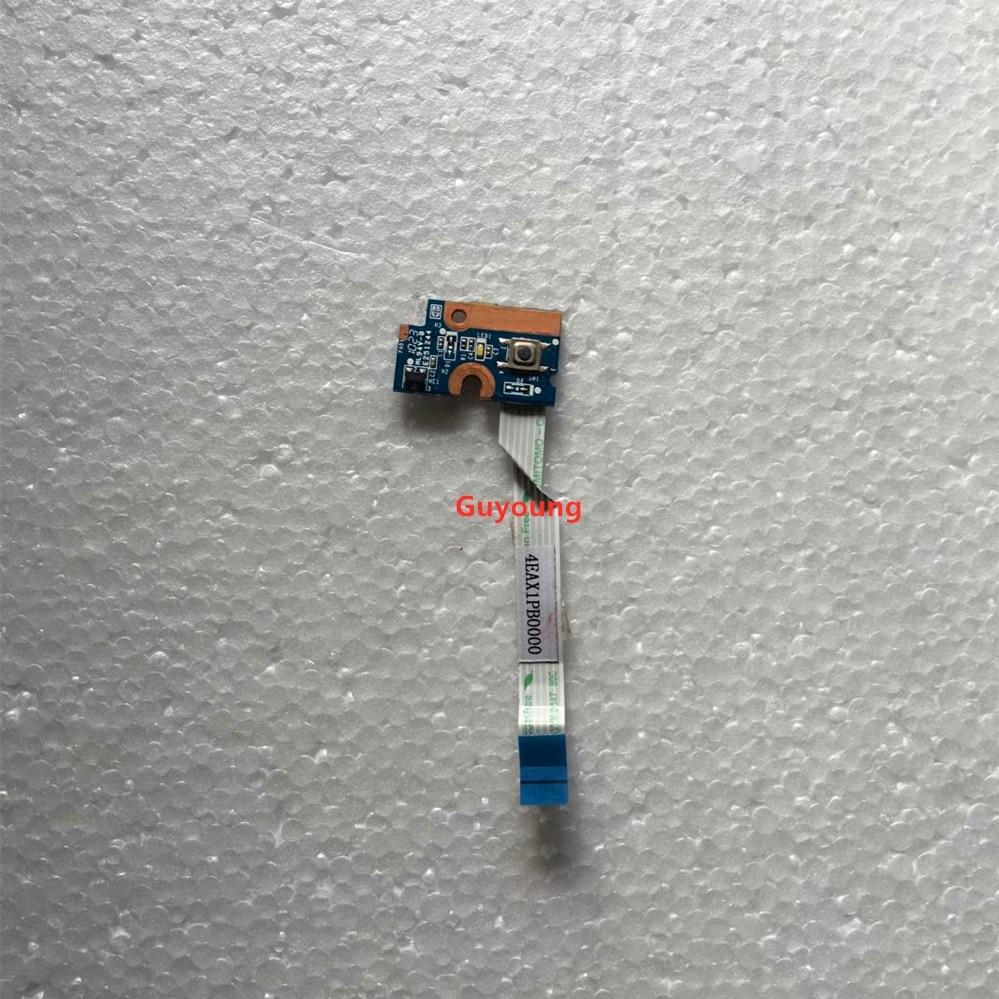 Para HP G42 G56 G62 G72 Para Compaq CQ42 CQ56 CQ62 CQ72 Placa do Botão de Energia 4EAX1PB0000 SQJBE099M 3EAX1PB0000