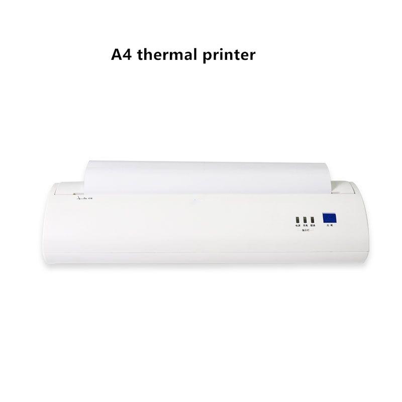 Impresora térmica portátil A4, Mini, inalámbrica, Bluetooth, USB, Android IOS, móvil, impresora de recibos, foto, pdf, impresión de documentos, 2020