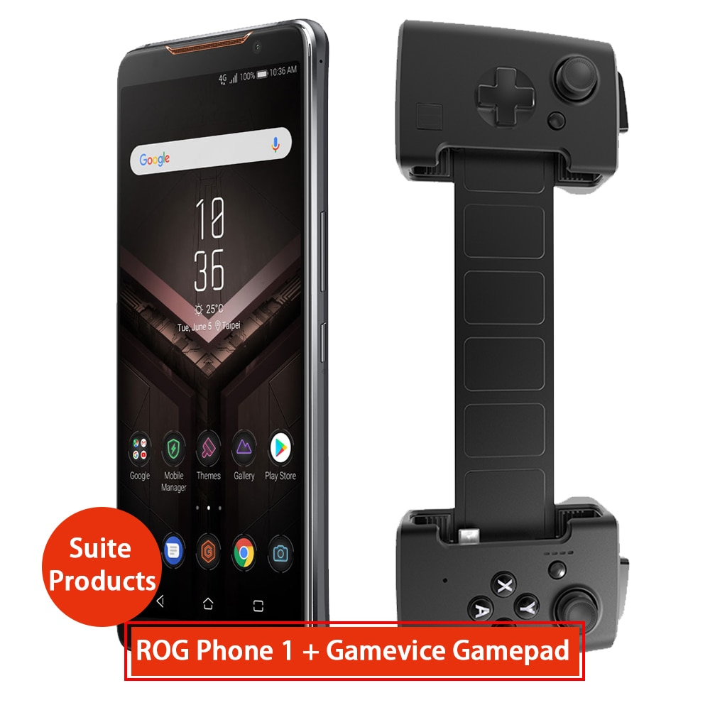 Asus ROG 전화 ZS600KL + gamevice gamepad Suite 제품 8GB RAM 128 ROM NFC OTA 업데이트 게임 전화 CN 버전
