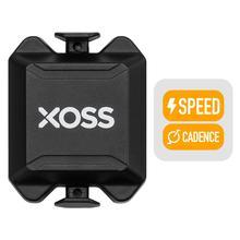 XOSS جهاز كمبيوتر عداد السرعة والسرعة والإيقاع المزدوج الاستشعار ANT + بلوتوث الطريق الدراجة الجبلية الاستشعار عن iGPSPORT bryton