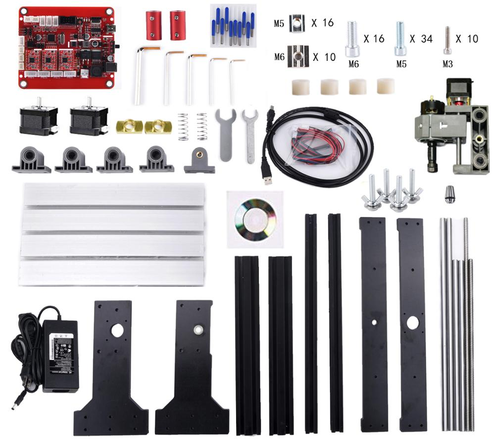 CNC graveerimismasin, PCB freespink, lasergraveerimine, GRBL - Puidutöötlemisseadmed - Foto 4