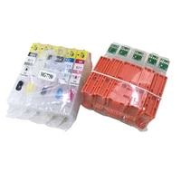 free shipping 5sets 5color compatible mg7750 empty ink cartridge for 570 571 xl inkjet printer parts