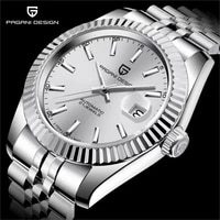 pagani design 2021 new low key luxury antique mens automatic mechanical watches sapphire glass stainless steel waterproof clock