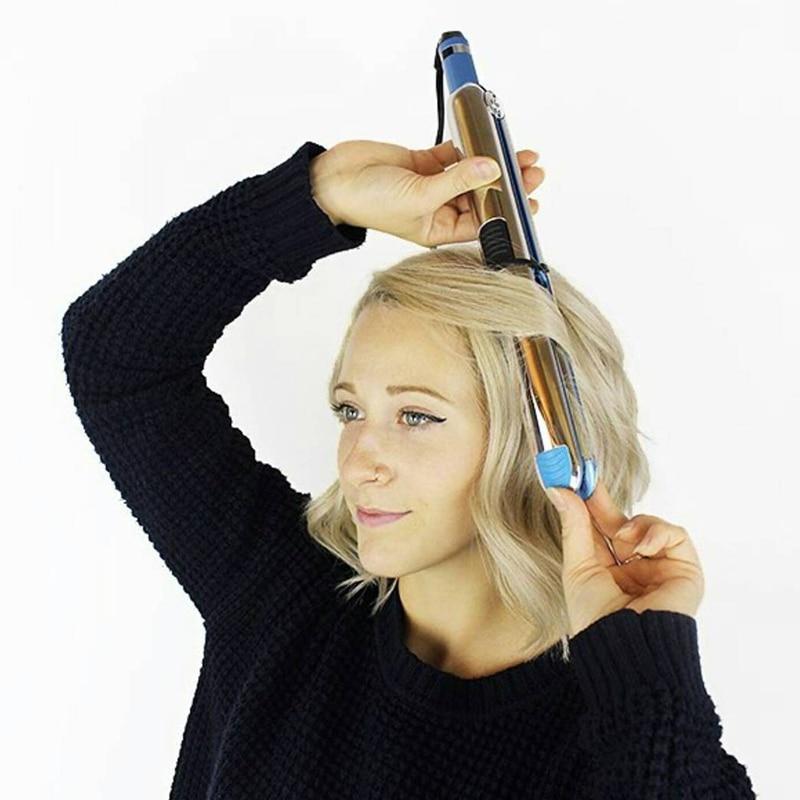 Max 750F Nano titanium floating plate flat iron hair straightener professional fast electric hair straightening metal housing enlarge