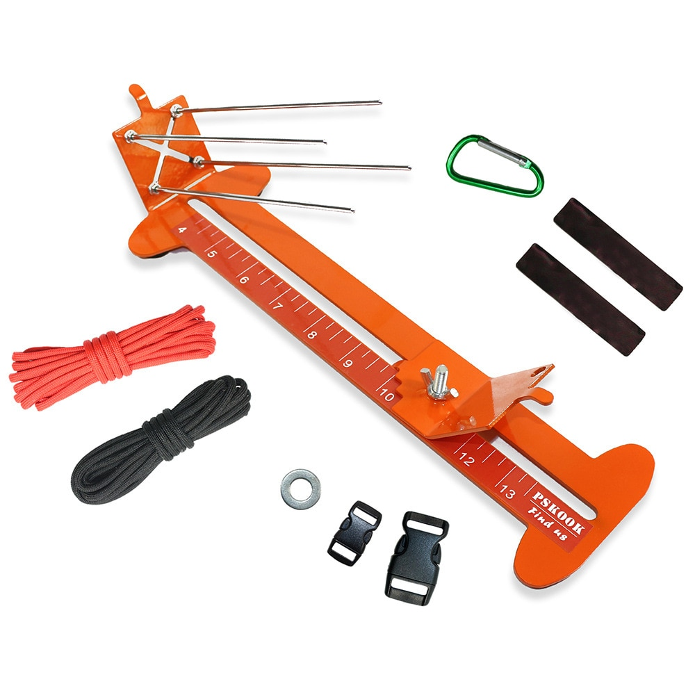 New Monkey Fist Jig and Paracord Jig Bracelet Maker Paracord Tool Kit Adjustable Metal Weaving DIY Craft Maker 4
