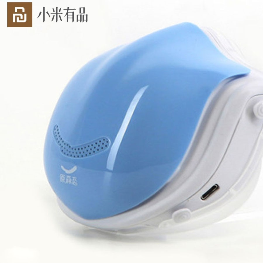 YouPin Q5Pro Mask Face Freash Air With Electric Fan Filter For Germ Protection Respirator Anti Haze Dust Proof No Suffocation
