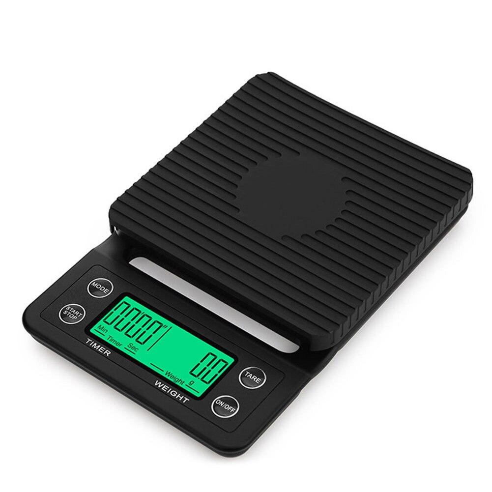 Бытовые цифровые кухонные весы с таймером, 0,1 г