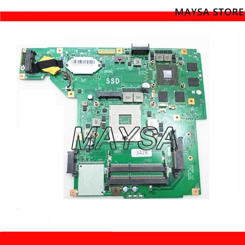 MS-1756 para MSI GE70 placa base de computadora portátil MS-17561 REV 1,0/1,1 rPGA988 hembra prueba OK