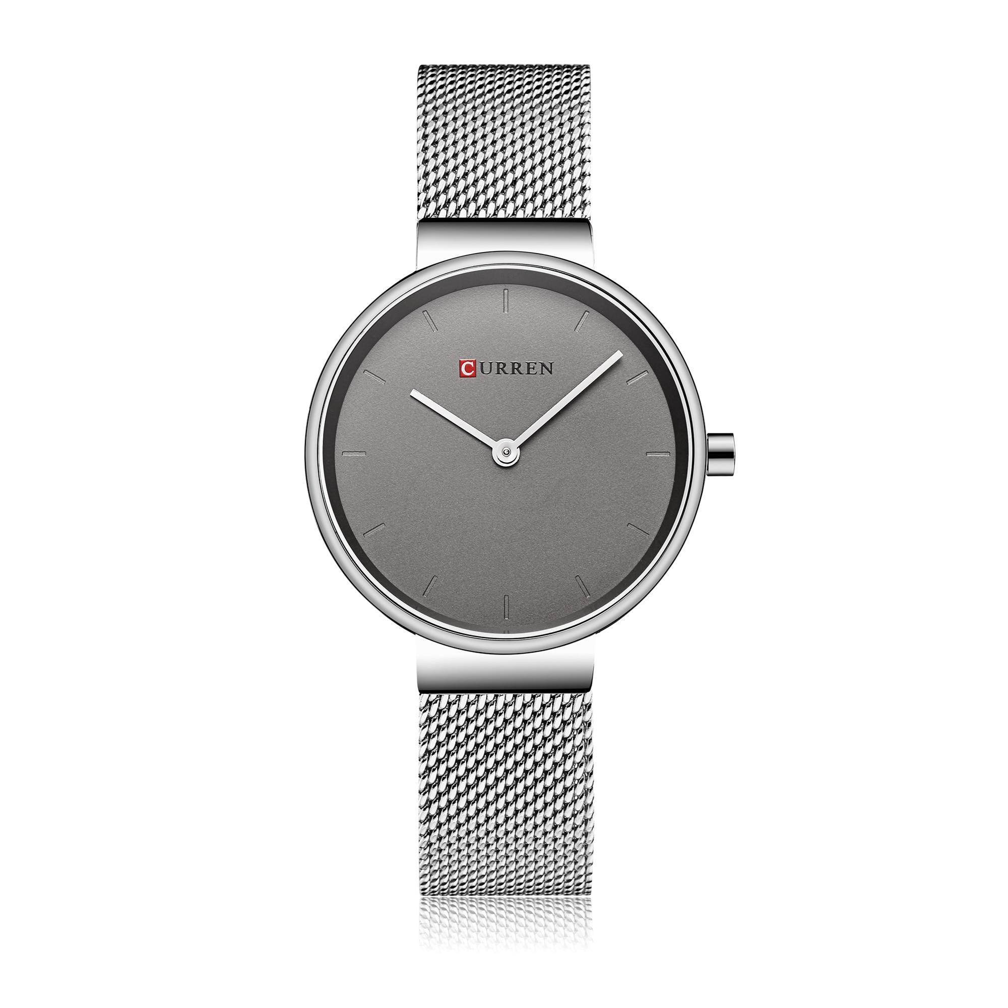 CURREN Female Watch Fashion Minimalist Style Womens Wristwatch Mesh Watch Water Resistant Hardlex Ultra Thin Relojes Para Mujer enlarge