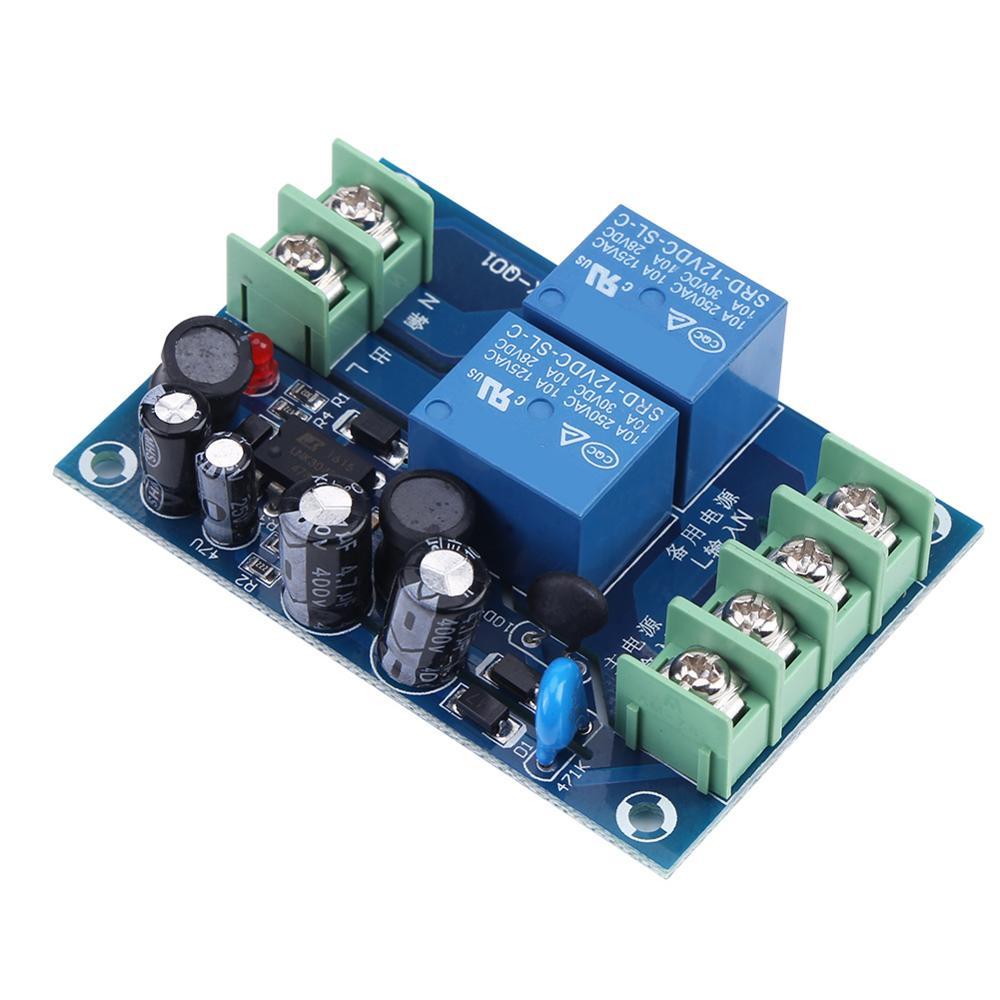 AC 85-240 В 110 В 220 в 230 В 10A Двойной источник питания автоматический контроллер переключения модуль для аварийного переключатель аккумулятора