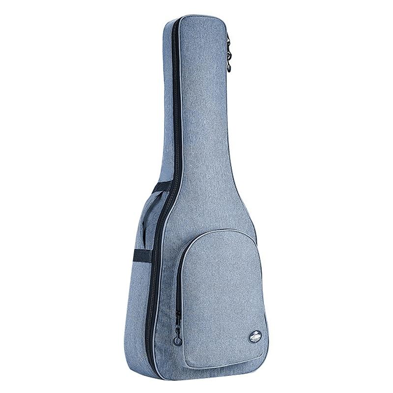 FISHMAN, guitarras de 41 pulgadas, funda de guitarra clásica acústica, mochila de 25mm de grosor con doble tirante