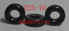 Polvo de hierro RF tipo americano núcleo magnético T25-10, polvo de hierro RF ToroidalT25-10