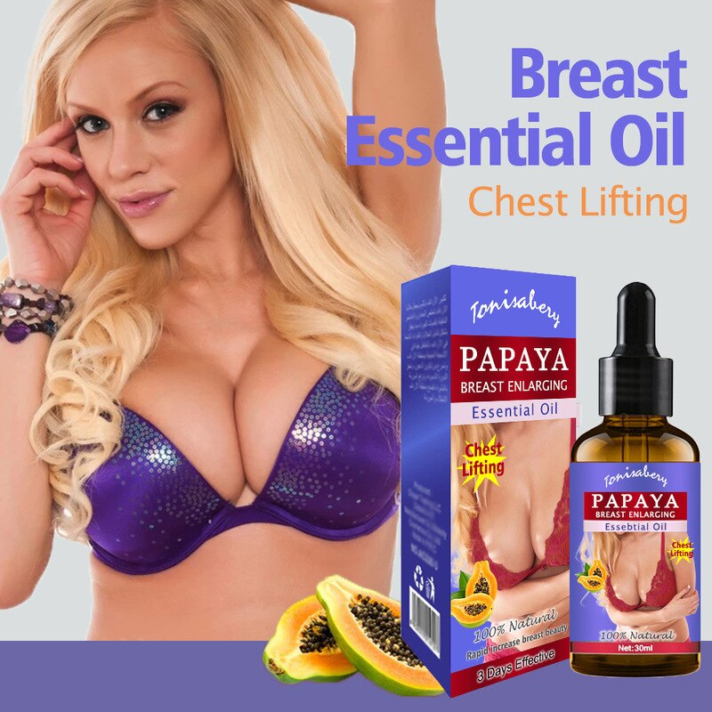 Pawpaw Breast Enlargement Oil Breast Lift Firming Massage Cream Big Bust Enhancement Breast Promote