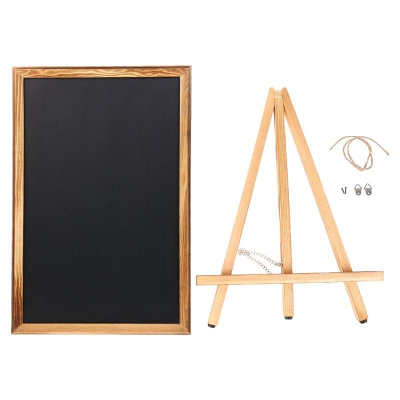 Desktop Memo Message Blackboard Easel Chalkboard Bracket Sketchpad Kids Writing K3KB