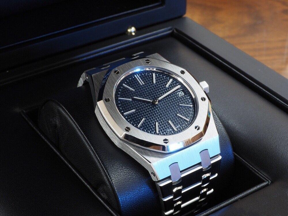 100M Waterproof Wristwatch -audemars- Piguet- Watch Men 15400ST Luxury Top Brand Automatic Mechanica