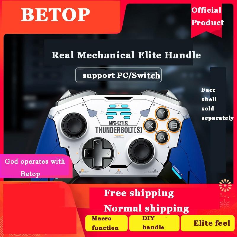 Betop Zeus T6 Elite mecánica Gamepad inalámbrico para PC interruptor Lobo vapor NBA2K20 Nintendo NS Zelda