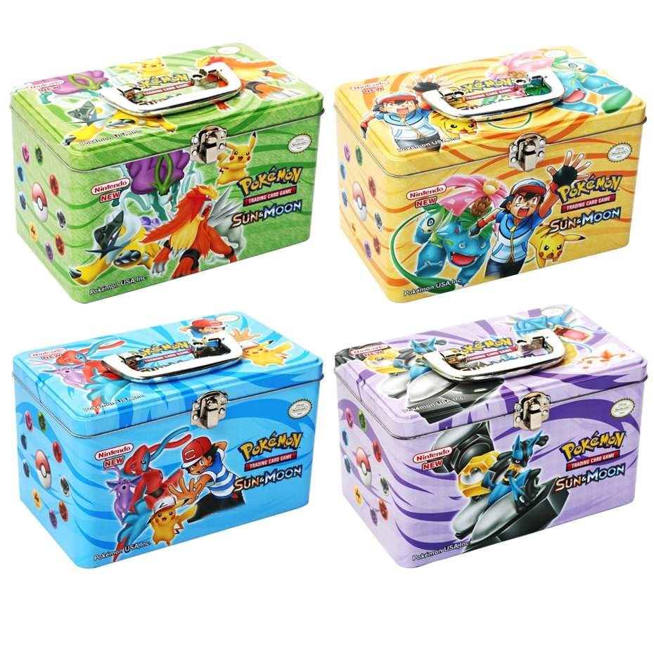 Carrying Case Box Pokemon TAKARA TOMY Battle Toys Hobbies Hobby Collectibles Game Collection Anime Cards for Children