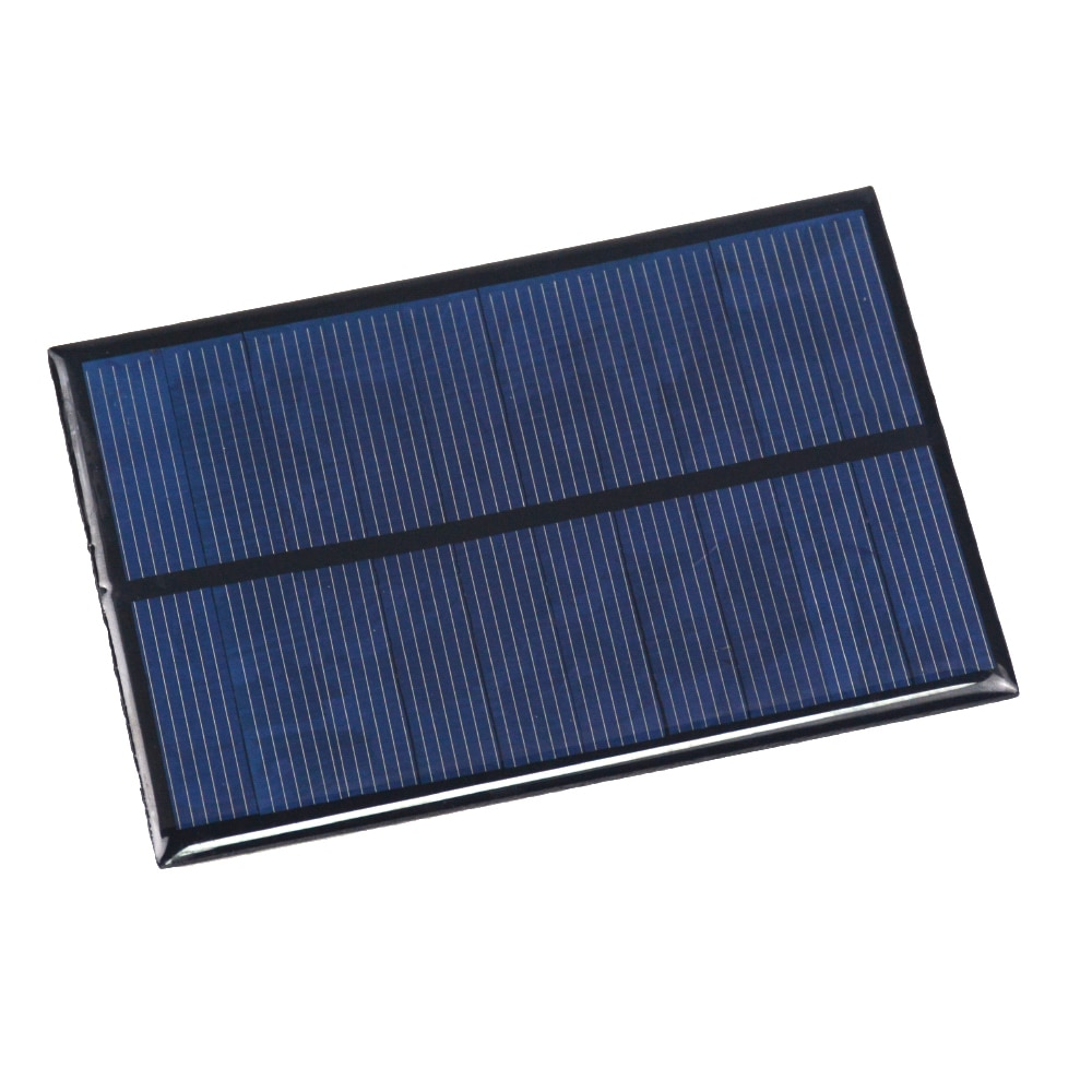 1PCS Solar Panel 5V 200mA Mini Solar System DIY For Battery Cell Phone Chargers Portable Solar Cell 100x70mm