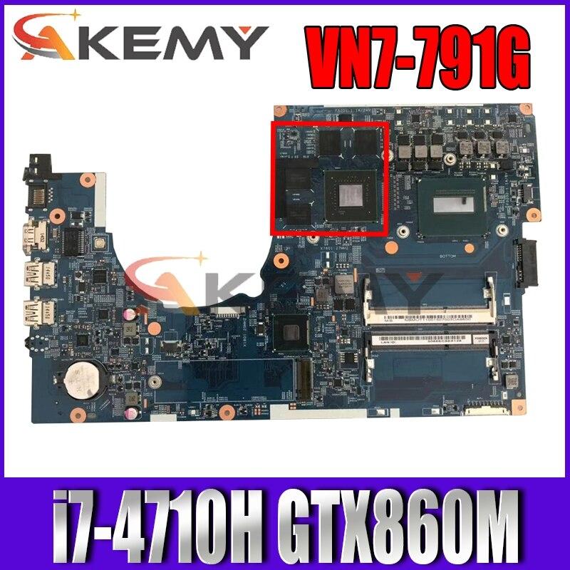 Akemy 14204-1M 448.02G13.001M para ACER VN7-791 VN7-791G placa base de computadora portátil...