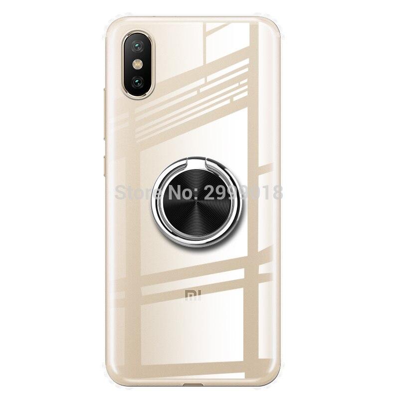 Funda blanda para Huawei Honor 9A 9C con imán magnético para el dedo del coche para Huawei Honor 9A 9 A, funda para teléfono Honor9A MOA-LX