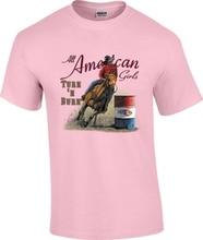 Turn N Burn Barrel Racing Racer Rodeo Horse Cowgirl T-Shirt