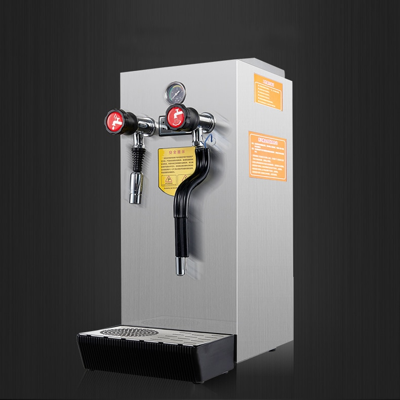 10L comercial automática máquina de burbujas de leche vaporizadora de agua caliente máquina de hacer espuma de café máquina de hervir a vapor