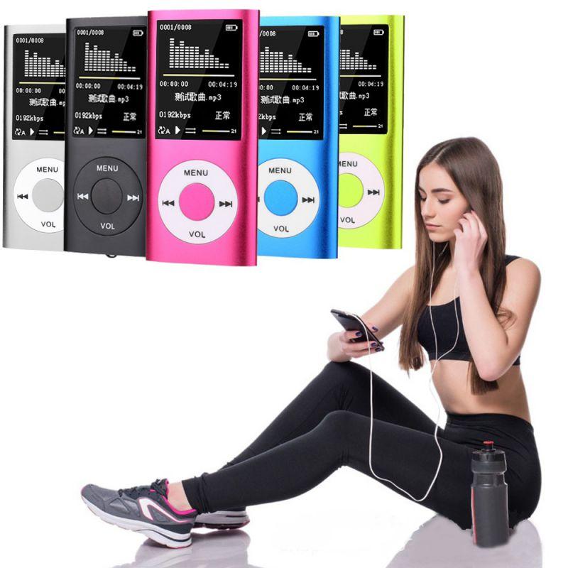 New Mp3 Music Player Radio FM Recorder Speler Lecteur HIFI Mp3 Sport Clip USB Aux muziek digital led