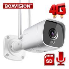 HD 1080P, caméra 3G 5 mp   Carte SIM GSM sans fil, caméra Audio CCTV bidirectionnelle étanche, Vision nocturne, CamHi 20M P2P