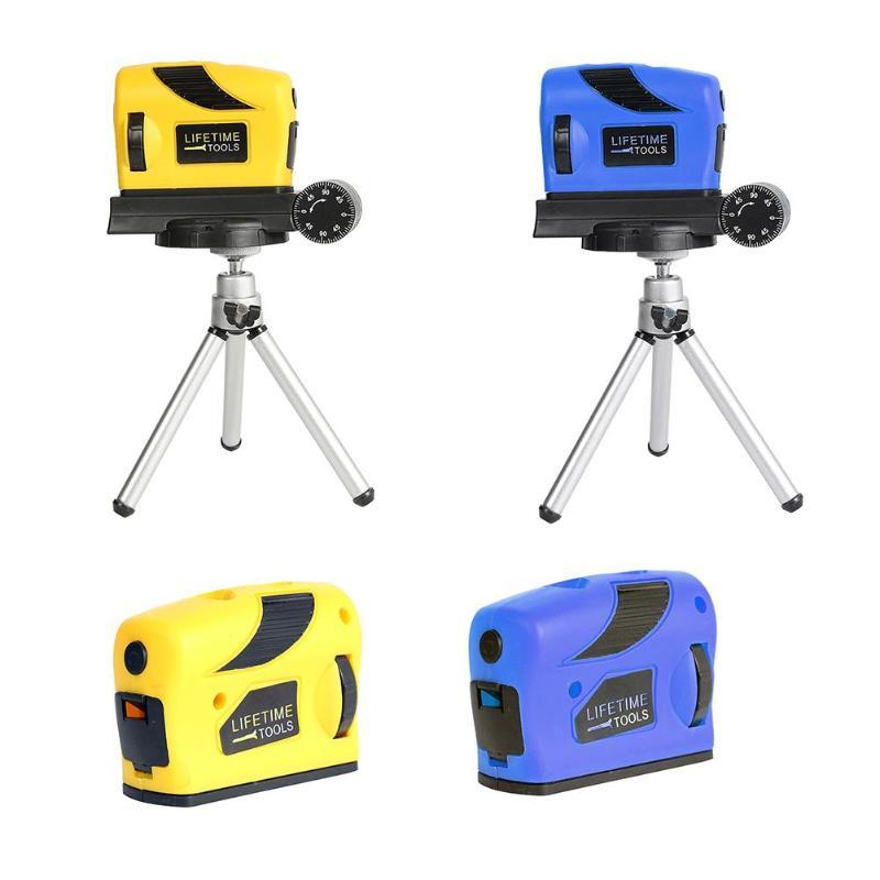Instrumento de nivel de láser infrarrojo, punto/línea/Cruz/Vertical, Medidor láser