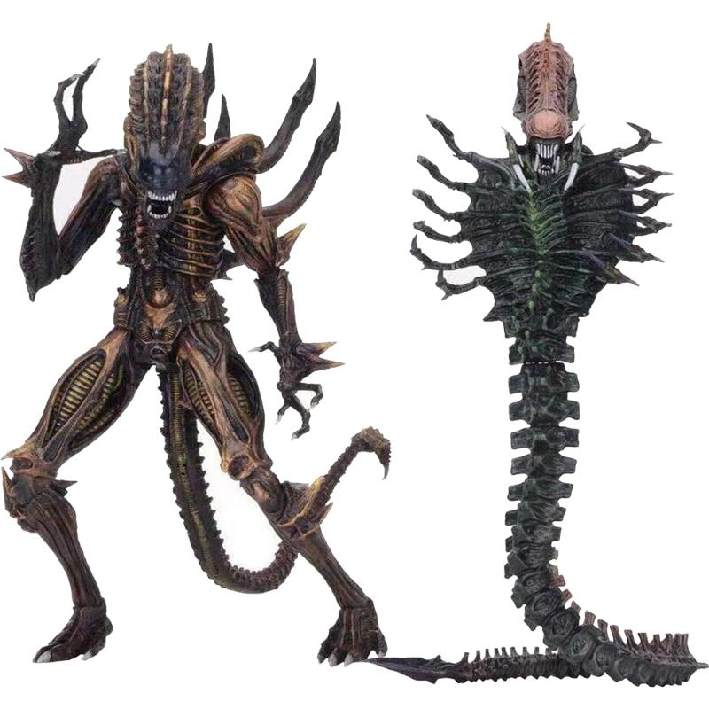 NECA 13th Lineup Aliens VS Predator Scorpion Snake Alien Sgt Apone Kenner Action Figure Model Toy Gift