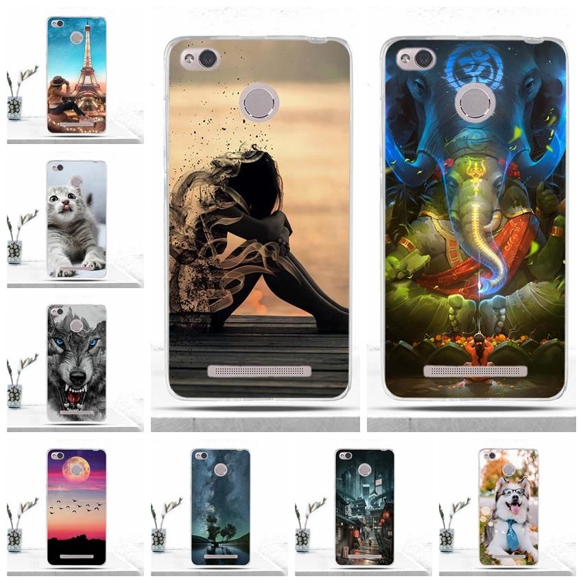 Funda de silicona Para Xiaomi Redmi 3S, Funda de teléfono Para Xiaomi...