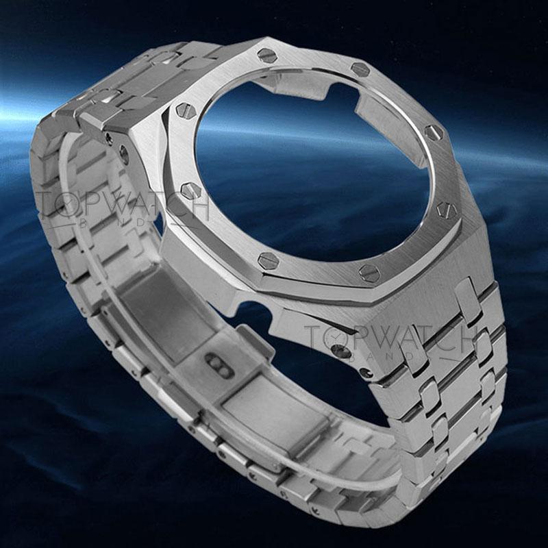 Ремешок для часов 3-го поколения, металлический браслет второго поколения из нержавеющей стали, GA2110