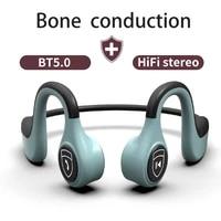 for xiaomi bone conduction sport headphones wireless bluetooth 5 0 with microphone headset ipx5 waterproof sweatproof