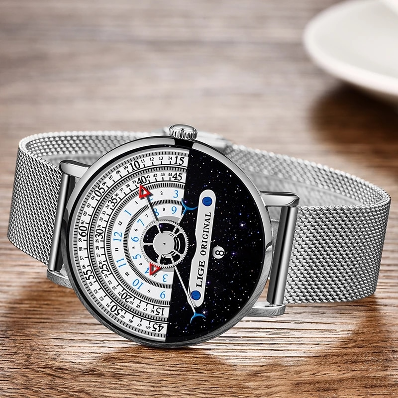 2021 New Women Watches LIGE Top Brand Luxury Watch Women Simple Casual Fashion Girls Clock Ladies Wristwatch Relogio Feminino enlarge