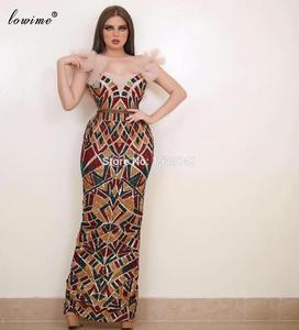 Plus Size Arabic Prom Dreses Mermaid Sequins Cocktail Dresses Evening Wear Turkish Couture вечернее платье Women Celebrity Dress