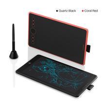 Huion 2 In 1 Grafische Tablet H320M 8192 Niveaus Digitale Tekening Pen Tabletten Lcd Schrijfbord Batterij Gratis Stylus Ondersteuning android