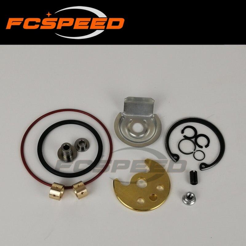 Kit turbocompresor reparación TD02 49173-07507 Turbo kits de remodelado para Citroen Ford Peugeot HDI 1,6 TDCI 55Kw 66Kw DV6ATED4 2005