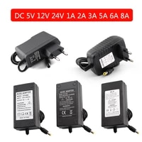 ac dc power supply 5v 12v 24v eu us switching power supply adapter converter 220v 110v to 5v 12v 24 volt 1a 2a 3a 5a 6a 8a 10a