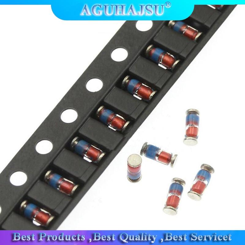 200PCS triángulo ZMM. 3V 3V3 3V9 4V7 5V1 7V5 8V2 V 10V 12V 15V 16V 18V 20V 24V LL34 SMD diodo Zener Paquete 1/2W 0,5 w Chip diodo Zener