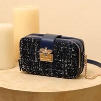 nucelle womens oblique satchel 2020 autumn and winter new fashion single shoulder bag coarse hair camera bag
