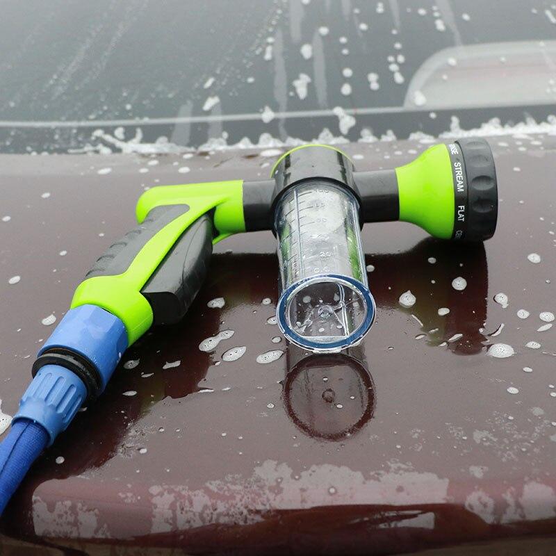 Herramienta de lavado 8 en 1, pistola rociadora Jet, dispensador de jabón, boquilla para manguera de riego de jardín, herramienta de lavado de coche para Volkswagen vw POLO Tiguan