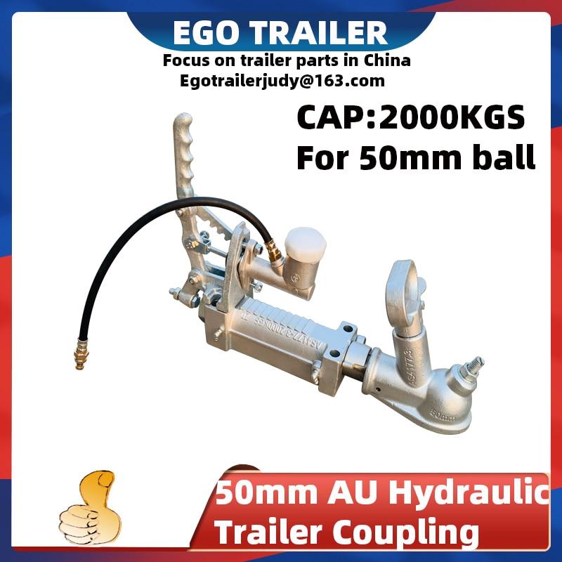 Ego прицеп 50 мм сцепка шаровой прицеп гидравлический Соединительная муфта сцепка главный цилиндр тормозной кронштейн караван автомобиль 2т