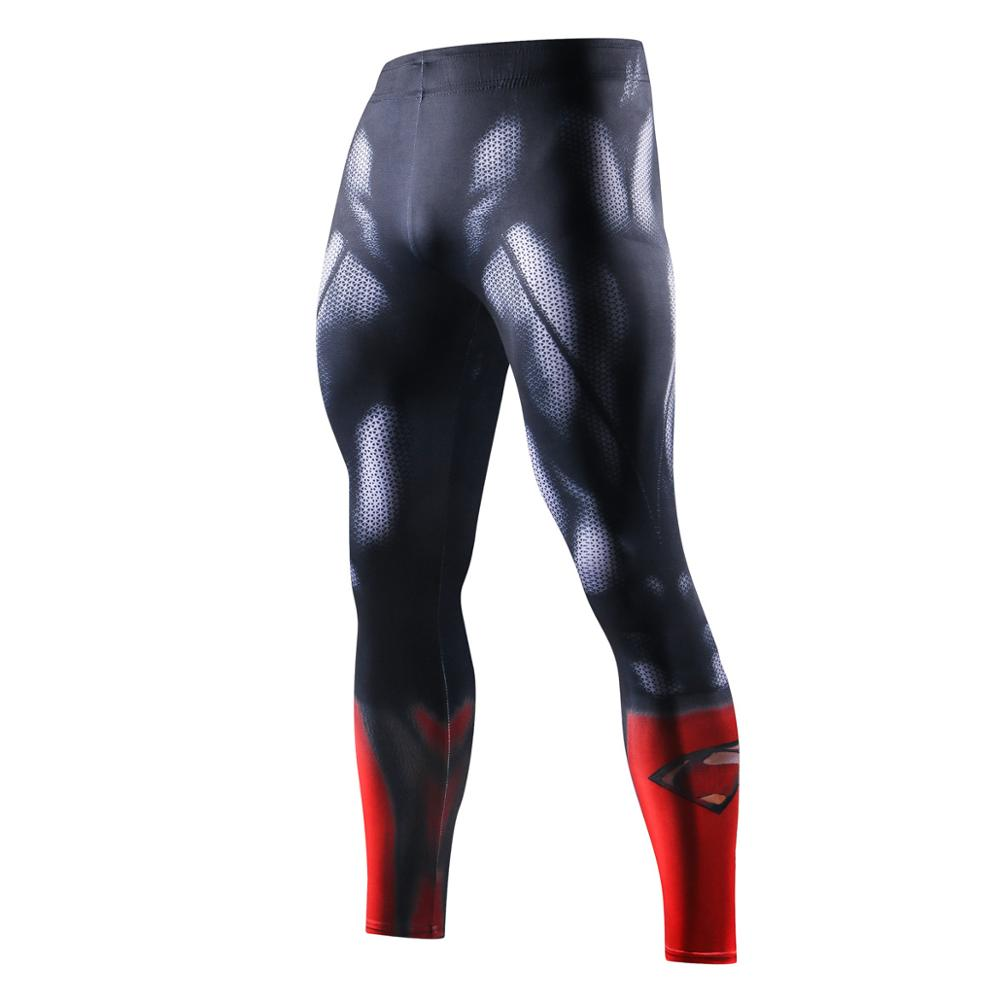 Фото - Men Compression Tight Leggings Running Sports Men Print Gym Fitness Jogging Pants Quick Dry Trousers Workout Training Basketball men tights pants running training fitness sports leggings pocket gym jogging long sweat pants elastic breathable exercise pants