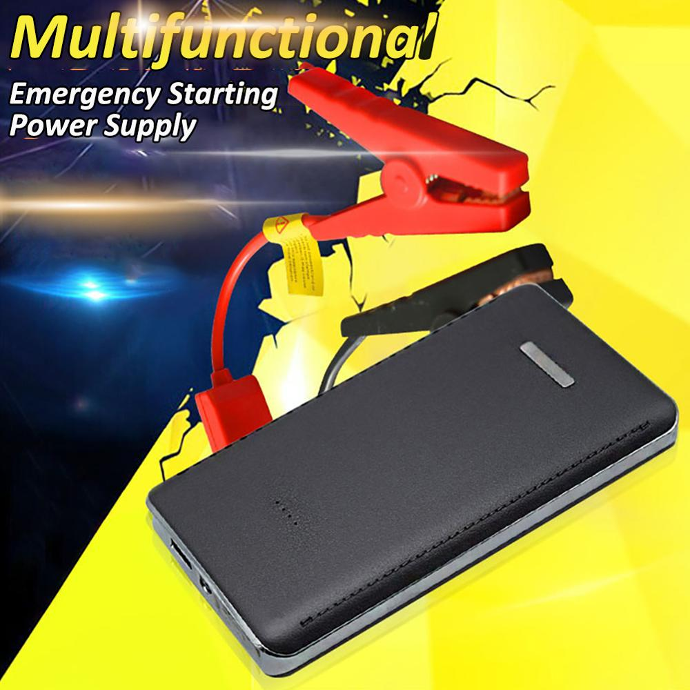 12V 8000mAh Mini Portable Multifunctional Car Jump Starter Power Booster Battery Charger Emergency S