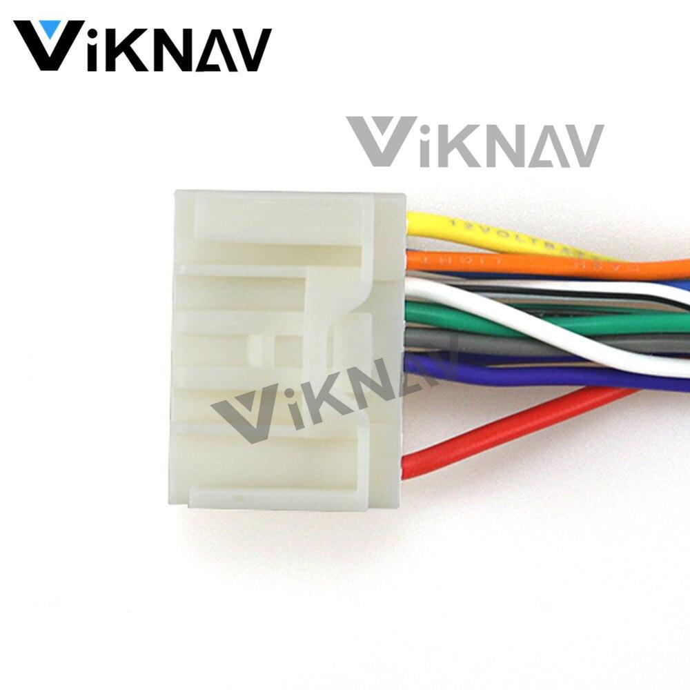 12-130 ISO adaptador de Radio automático para MITSUBISHI Rockford Fosgate conector de arnés de cableado enchufe de Cable