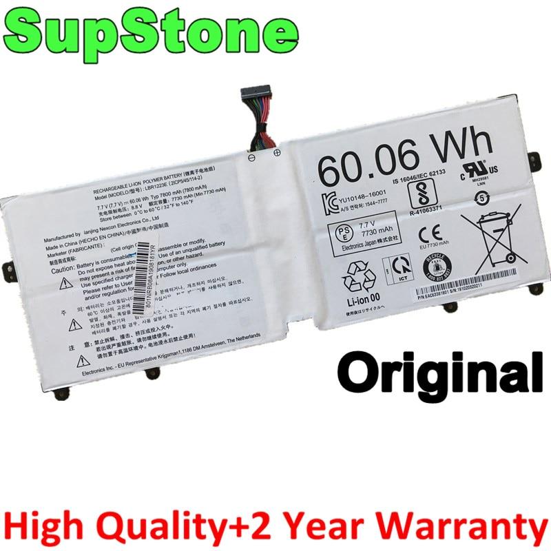 Supstone original genuíno lbr1223e bateria do portátil para lg gram 13z970. g. aa53c 13z975 14z970 14z980 15z970-g.aa52c 15z980 15z975