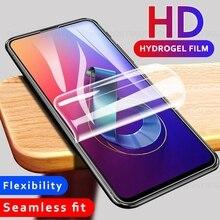 9D Soft Hydrogel Film For Asus ROG Phone 2 II ZS660KL Zenfone 6 Max Pro M2 Plus M1 5 Lite 5Q 5 3 4 Max Plus ZC600KL Not Glass