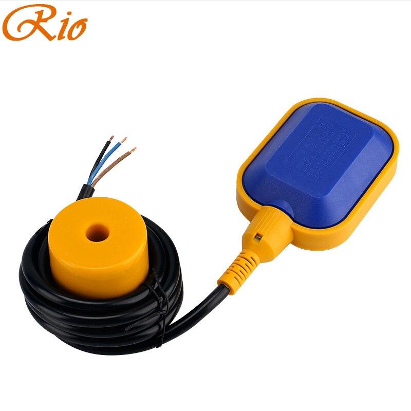 EM15-2 2M 3M 4M 5M controlador interruptor de flotador interruptores de líquido nivel de agua flotador interruptor controlador Contactor Sensor